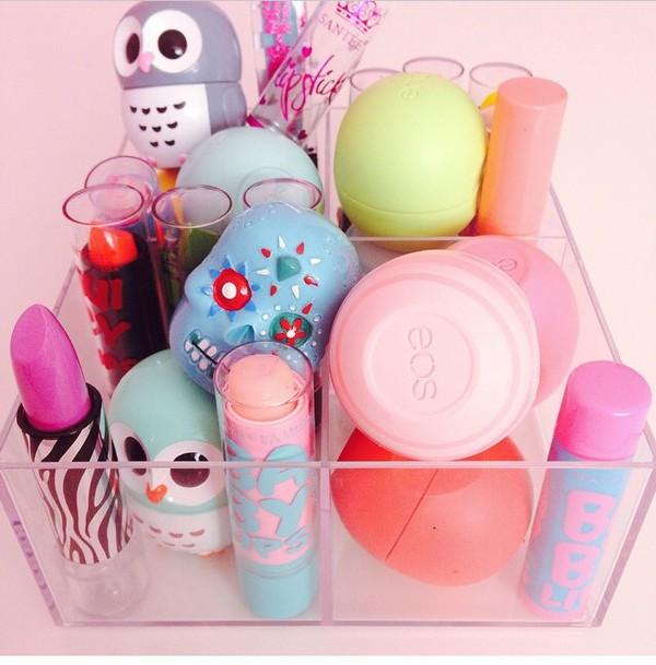 make-up eos lip balm