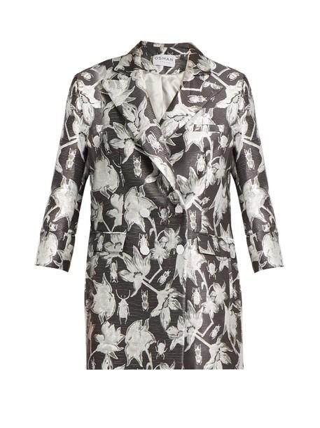 Osman jacket floral grey