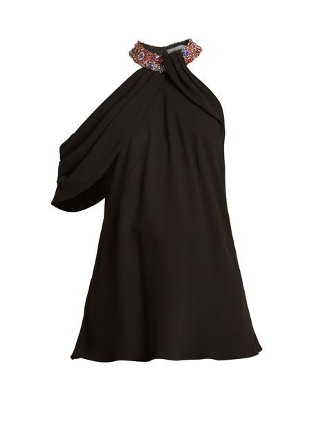 Alexander Mcqueen top embellished silk black