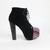 Victoria Boots - Black Multi | MorganGirl
