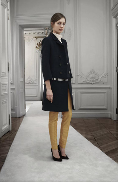 fashion lookbook chloé coat