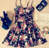 dress,floral,clothes,wedges,cute,bustier,shoes,cute dress,floral dress,black dress,floral pattern,flowers,make-up,high heels,black,pink,bag,jewerely,mini dress,black little dress with flowers,cute floral dress,fashion,spring,skater,spring outfits,green,roses,girly,sundress,flowered shorts,skater dress,white,fleur,noir,jolie,mignon,white purse,blue wedges,bracelets,skater black dress cute,floral bustier dress,tumblr,instagram,dess,hipster,grunge,goth,lolita,flower spaghetti strap dress,summer dress,autumn/winter,vintage,outfit,date outfit,kawaii,lovely