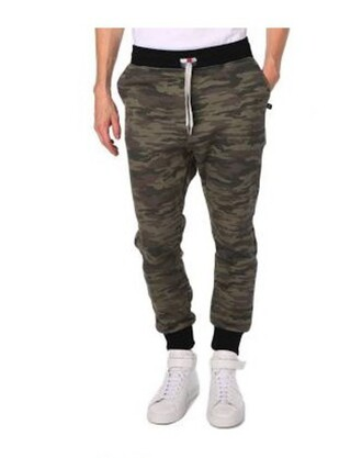 pants sweatpants joggers swag camouflage camo pants style casual black green mens white lounge pants fashion menswear