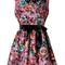 Multi day dress - floral painting dress s010472 | ustrendy