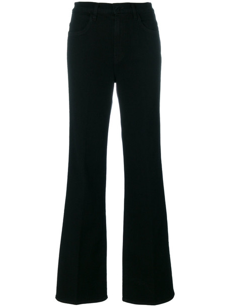 J BRAND women spandex cotton black pants