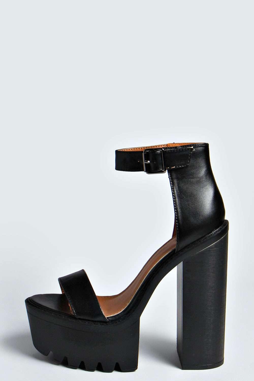Ankle Strap Platform Heels