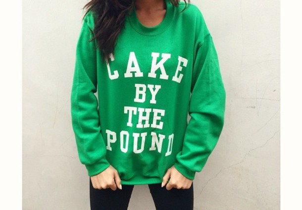 sweater green sweater shay mitchell cake by the pound green st patrick's day