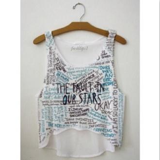 shirt the fault in our stars freshtops bag