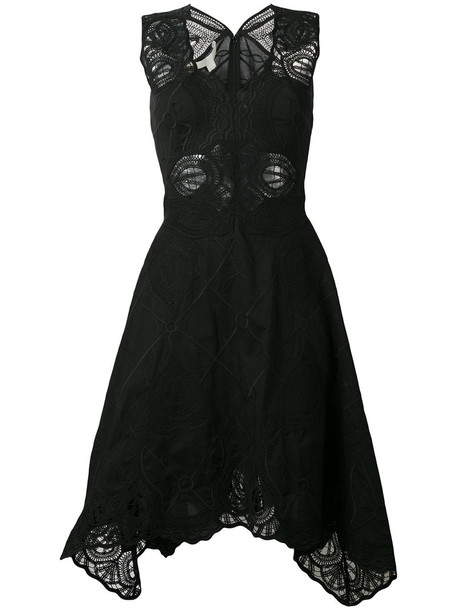 Jonathan Simkhai dress embroidered women cotton black