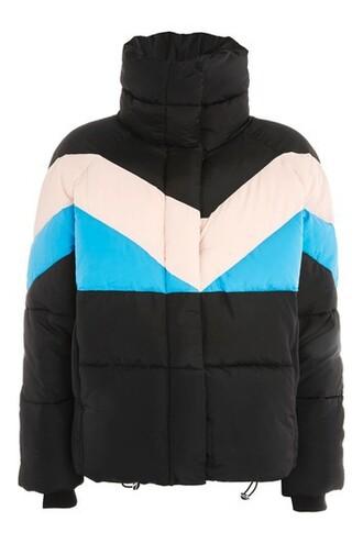 jacket puffer jacket black
