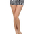 Popular Trends Vertical Aztec Tribal High Waisted Mini Shorts Zipper Pants s M L | eBay