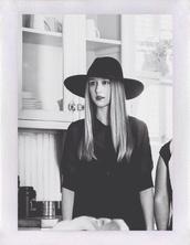 hat,fedora,cap,american horror story,black