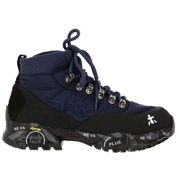 Premiata sneakers. women sneakers shoes blue