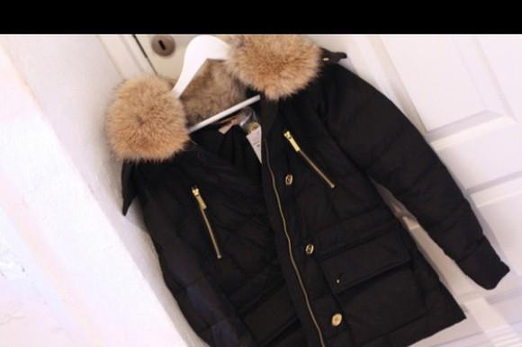 black coat fur coat fall outfits winter coat autumn coat fur