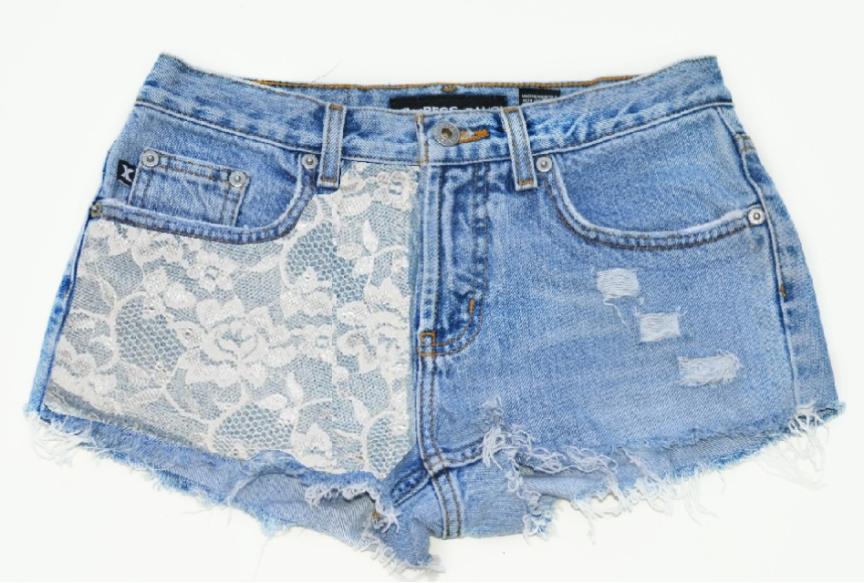 The 'Love Lace' Shorts - Nerdy Youth