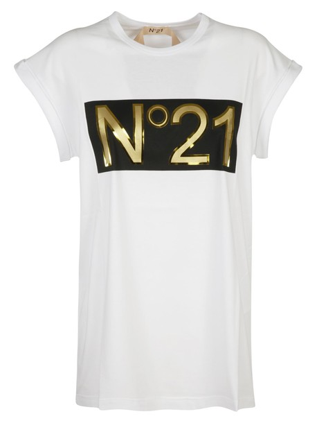 N.21 t-shirt shirt t-shirt white top