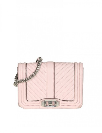 love quilted leather pink chevron pink leather bag
