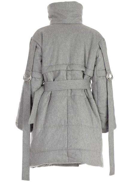 EUDON CHOI coat grey