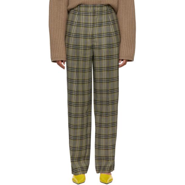 Joseph Multicolor Check Riska Trousers