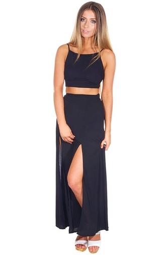 skirt set maxi maxi skirt matching set top top and skirt matching skirt and top