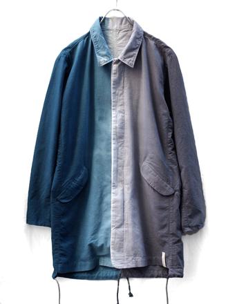 jacket denim jacket ombre