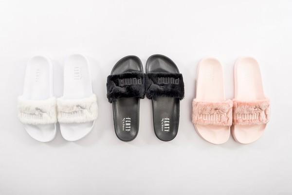 fa866b52df0 shoes fur puma slides rihanna fur slippers rihanna fur slides fur shoes fluffy  fur fur slippers.