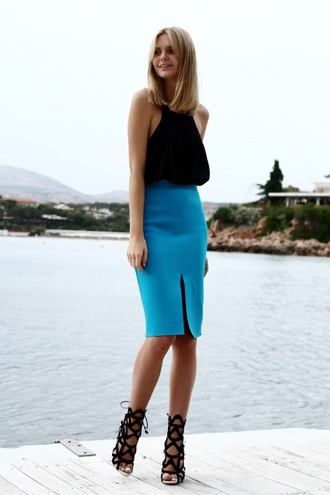 tuula t-shirt skirt shoes jewels