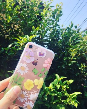 phone cover yeah bunny iphone dry flowers cute