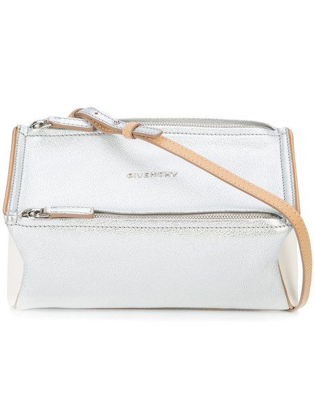 Givenchy mini women bag crossbody bag grey metallic