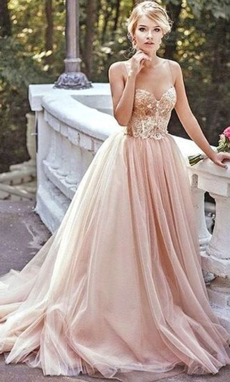 dress promdresssparkly prom dress prom gold blush goldandblush goldandblushdress formal formal dress gold dress long dress blushdress flowy dress