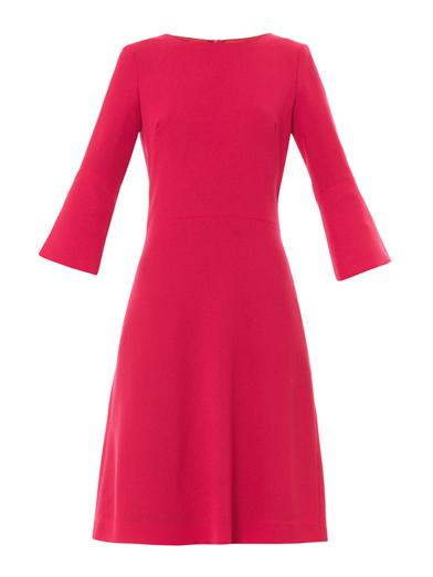 Pandora wool-crepe shift dress | Goat | MATCHESFASHION.COM