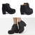 Must-Have High Platform Chunky High Heel Ankle High Boots | Danischoice.com