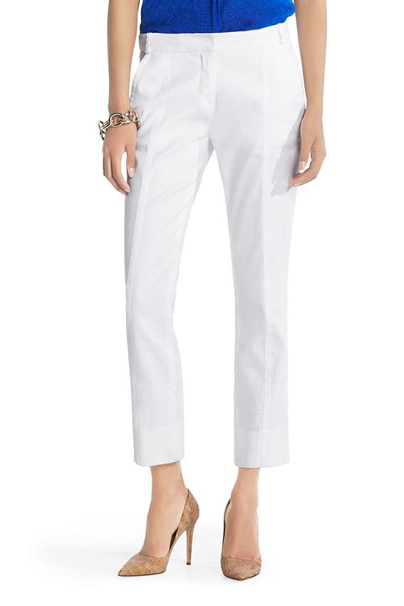 Carissa Linen Cropped Pant