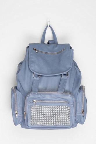 bag blue bag studs