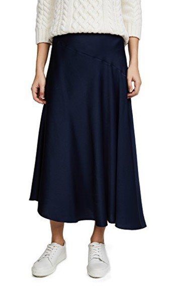 skirt asymmetrical skirt asymmetrical navy