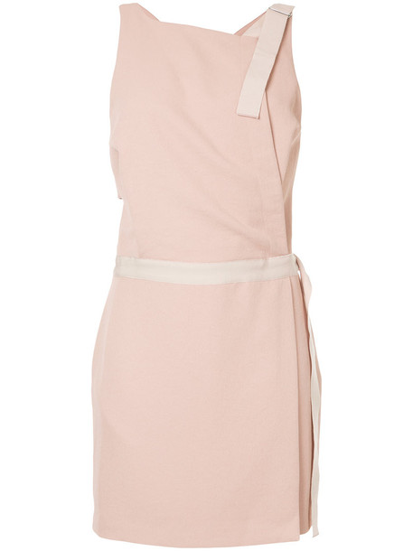Dion Lee dress mini dress mini women purple pink