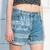 Boyfriend shorts - Pop Sick Vintage