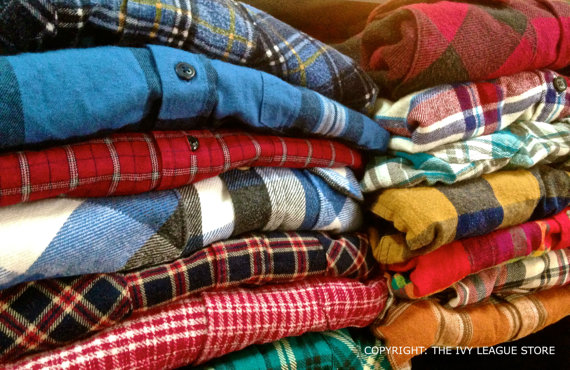 Vintage flannel shirts hipster fashion by theivyshoppe on etsy