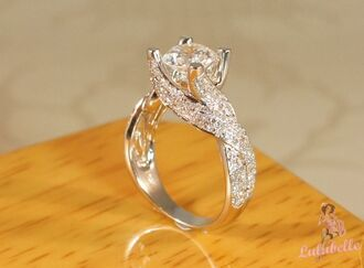 jewels engagement ring pretty ring gorgeous rings silver diamond ring