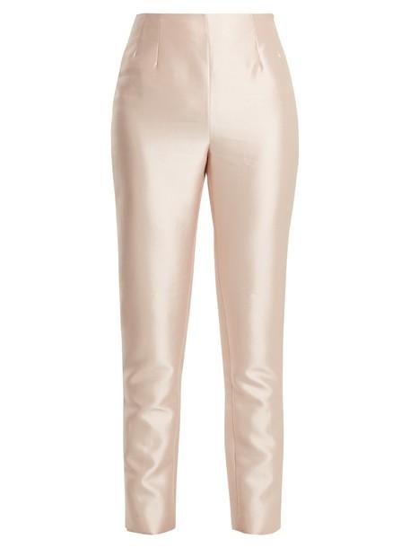 Gabriela Hearst high light pink light pink pants