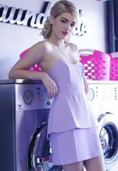 dress,lilac