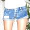 Boyfriend stonewash 420 shorts - arad denim