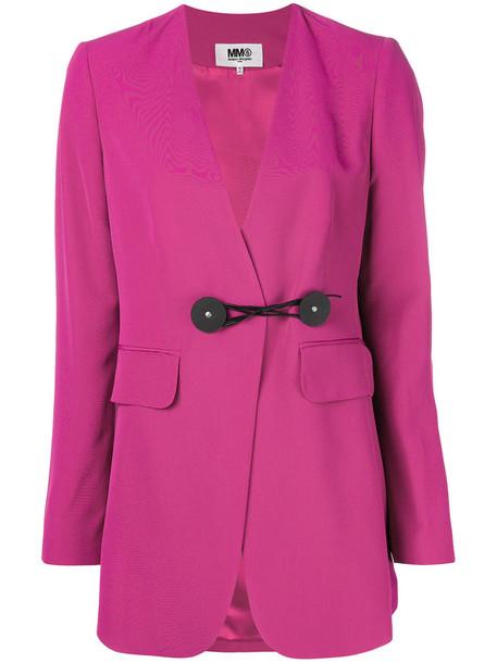 Mm6 Maison Margiela blazer women purple pink jacket
