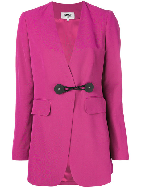blazer women purple pink jacket