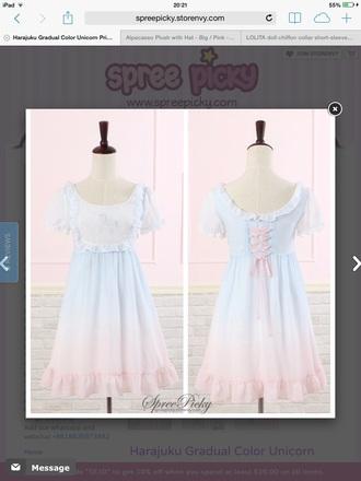 dress sweet lolita kawaii cute pastel