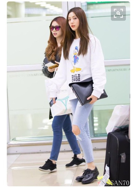 Jeans After School Orange Caramel Korean Style Korean
