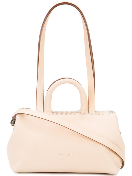 mini women bag shoulder bag leather nude