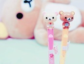 home accessory,pencils,japan,kawaii,korilakkuma,rilakkuma