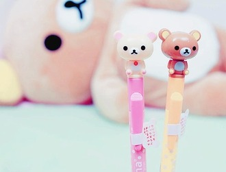 home accessory pencils japan kawaii korilakkuma rilakkuma
