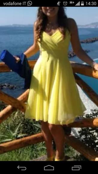 heart yellow dress yellow